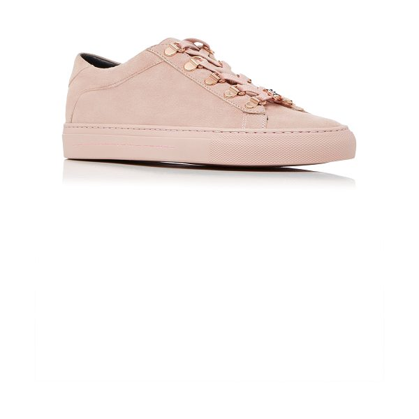 Koio JonBoy Pink Sneaker in pink - This *Koio* sneaker is rendered in leather and features...