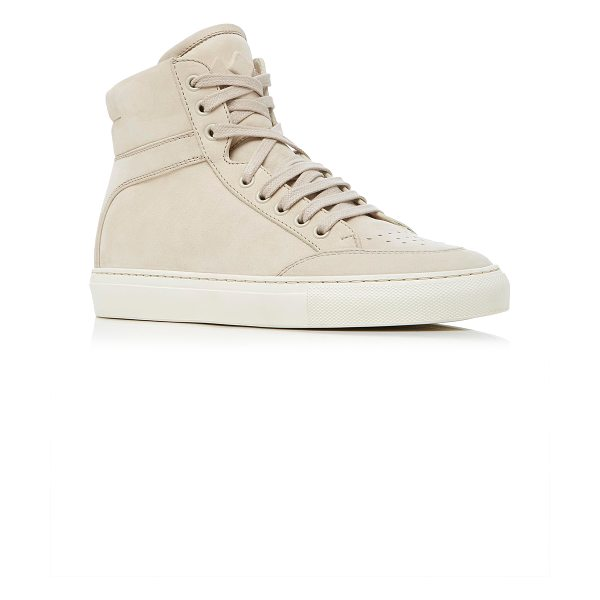 KOIO Primo Crema Sneaker - This *Koio* sneaker is rendered in suede and features...