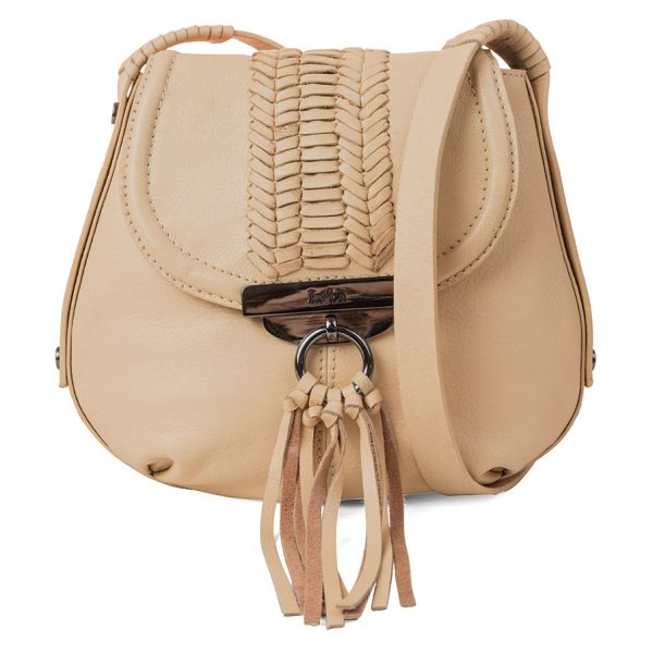 "Kooba SEDONA CROSSBODY in beige - Kooba pebbled leather crossbody bag. Approx. 8.5""H x 9""W..."