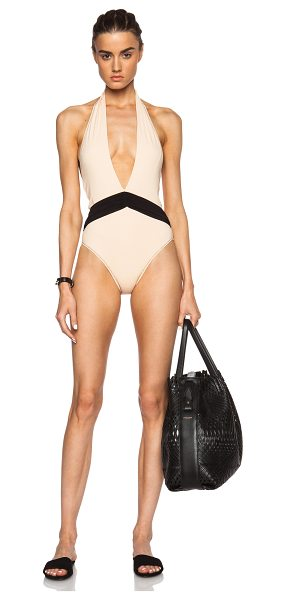 Kore SWIM Iris swimsuit in neutrals,orange