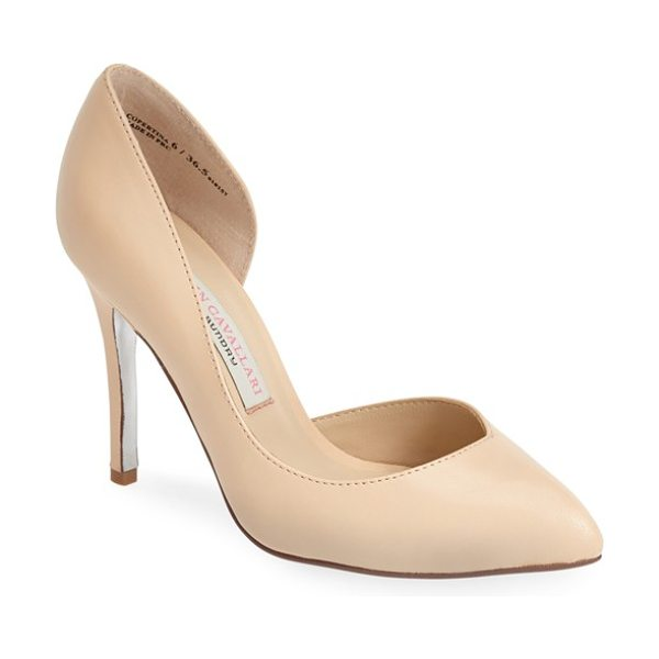 KRISTIN CAVALLARI copertina pump - A low vamp and asymmetrical topline add a modern vibe to...