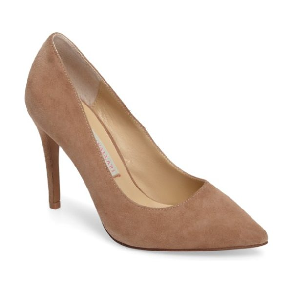KRISTIN CAVALLARI gisele pointy toe pump - A classic stiletto adds leg-lengthening lift and...
