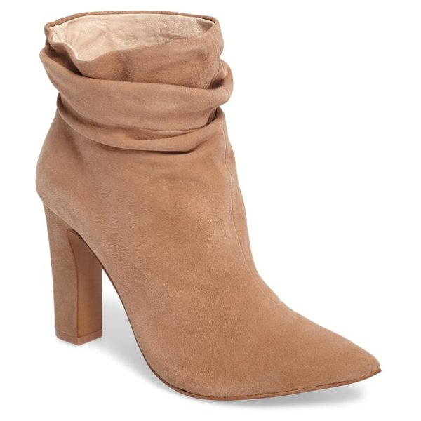 KRISTIN CAVALLARI kane bootie - A dramatic pointy-toe boot grabs your attention with a...