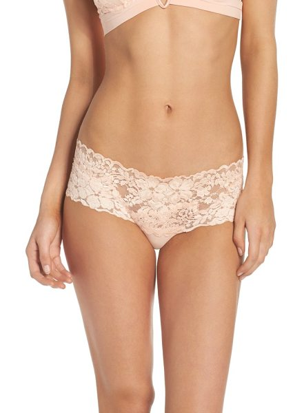 La Perla azalea hipster panties in peach