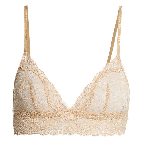 La Perla Freedom Leavers Lace Triangle Bra in nude - La Perla - Update your everyday underpinnings with La...