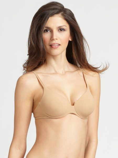 La Perla update full underwire bra in nude - Adjustable double straps top this supportive underwire...