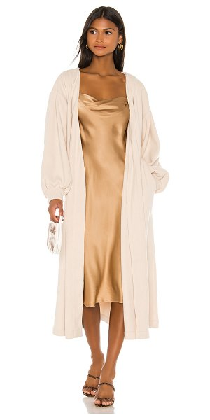 L'Academie the aline duster in cream