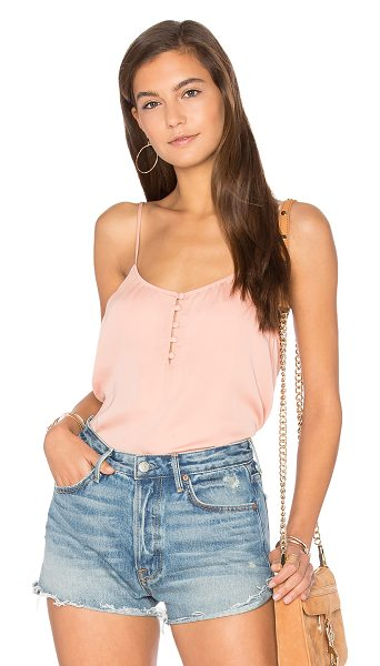 L'ACADEMIE The Button Cami - A closet staple gets a re-do with The Button Cami by...