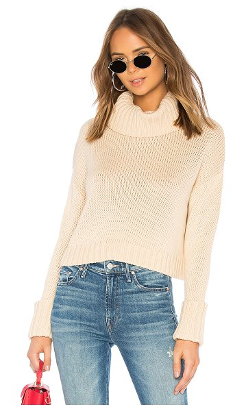 L'Academie the jessica sweater in beige