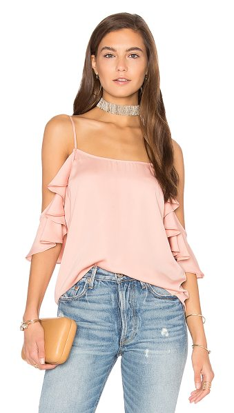 L'Academie The Shoulder Cami in peach - Find charm in the details. The Shoulder Cami by...