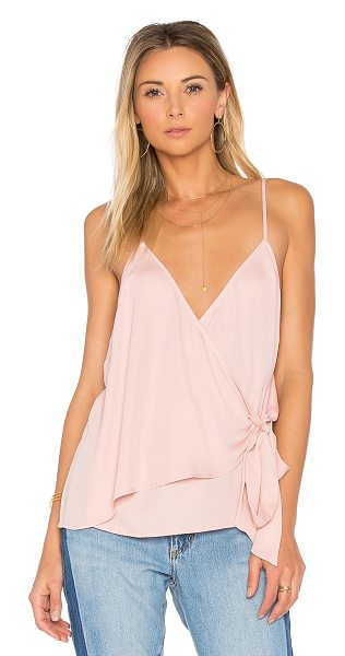 L'ACADEMIE The Wrap Cami - Feminine appeal meets a trusted and true staple with...