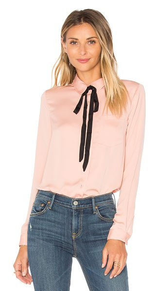 L'Academie x REVOLVE The Classic Blouse in nude - The Classic Blouse by L'Academie lives up to its name....