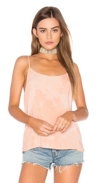 LACAUSA Easy Slip Tank in pink - 100% rayon. Adjustable shoulder straps. LACR-WS92....