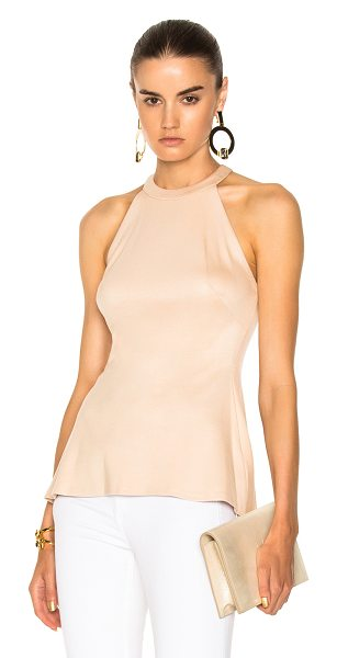 L'AGENCE Batista Sleeveless Top - Self: 93% viscose 7% spandexLining: 90% poly 10%...
