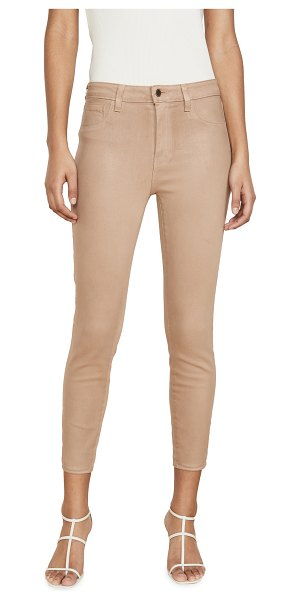 L'Agence margot high rise skinny jeans in cappuccino coated