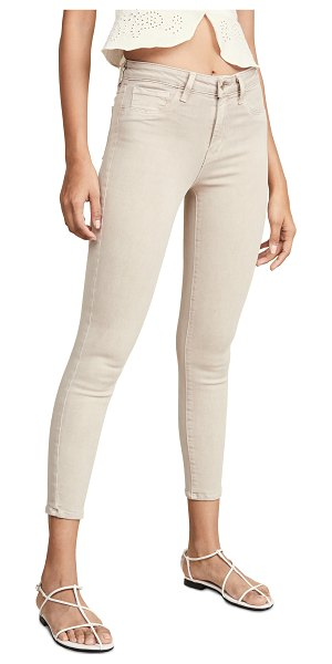 L'Agence margot high rise skinny jeans in biscuit