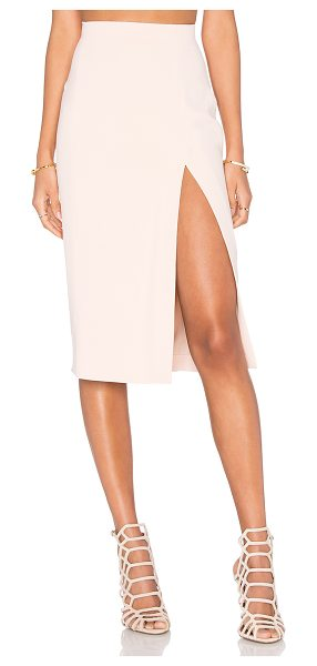 L'AGENCE Yvonne Pencil Skirt - Viscose blend. Dry clean only. Fully lined. Side slit....