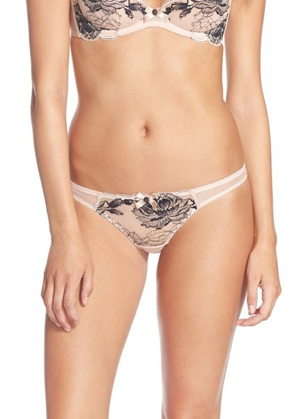 L'Agent by Agent Provocateur dani thong in nude/ black
