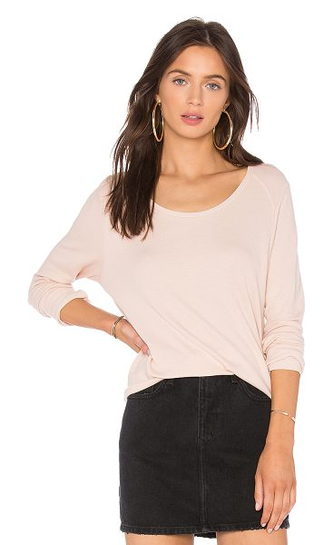 LAmade Conway Thermal Top in pink - 50% cotton 50% modal. Hand wash cold. Banded rib knit...