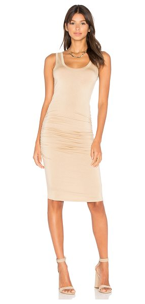 LAmade Frankie Dress in gold glass - 95% micro modal 5% spandex. Hand wash cold. Unlined....