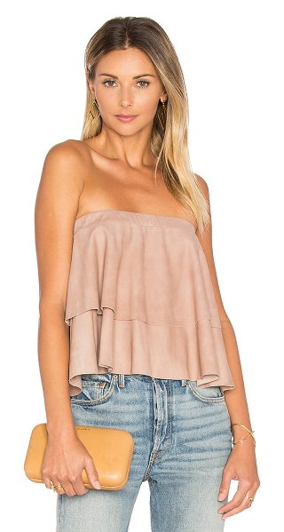 LaMarque Behati Top in blush - Genuine leather. Professional leather clean only....