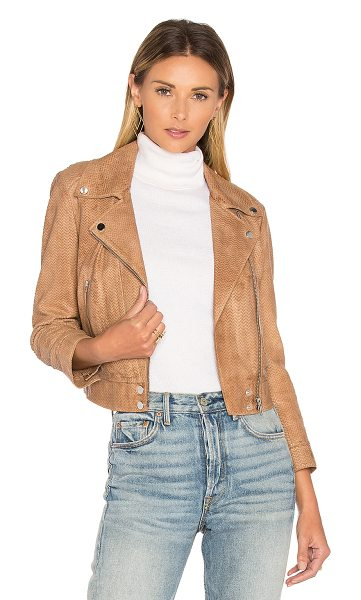 LaMarque Leala Jacket in cognac - Self: Genuine leatherLining: Poly blend. Professional...