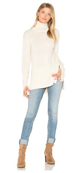 LaMarque Mounira Sweater in cream - 52% nylon 24% alpaca 24% merino wool. Dry clean only....