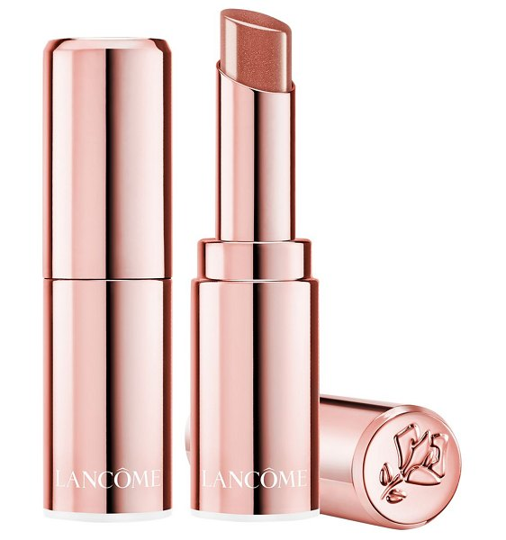 Lanc me l'absolu mademoiselle shine lipstick in ,nude,red
