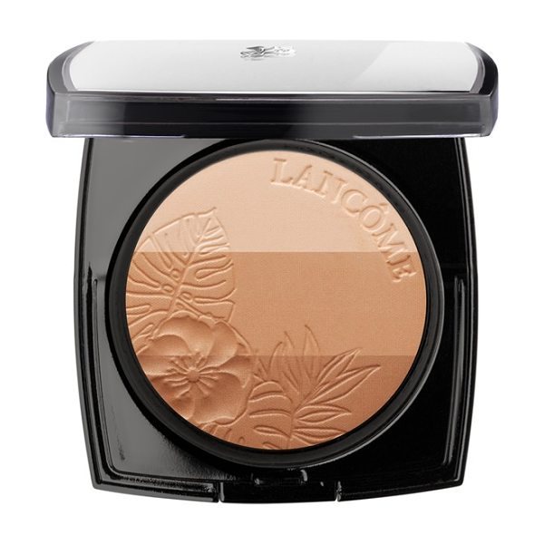 Lancome Belle de teint power glow bronzer trio in belle de bronze - This trio of complementary, shimmering, glowing bronzers...