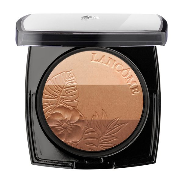 Lancome Belle de teint power glow bronzer trio in belle de vanille - This trio of complementary, shimmering, glowing bronzers...