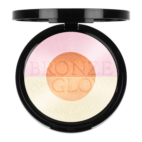 Lancome bronze & glow powder in pink glow - What it is: A limited-edition 2-in-1 highlighter and...
