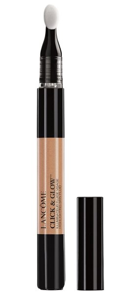 Lancome click & glow highlghting pen in bronze - What it is: A travel-friendly, luminous creme-fluid...