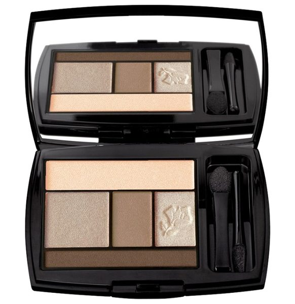 Lancome color design eyeshadow palette in beige brulee