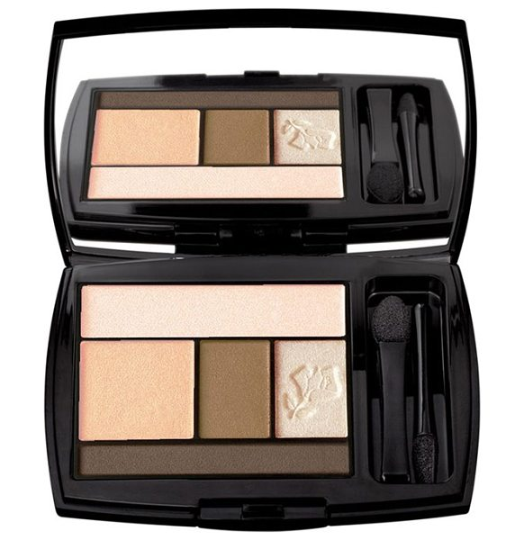 Lancome color design eyeshadow palette in 109 french nude - What it is: An all-in-one five-shadow palette that...