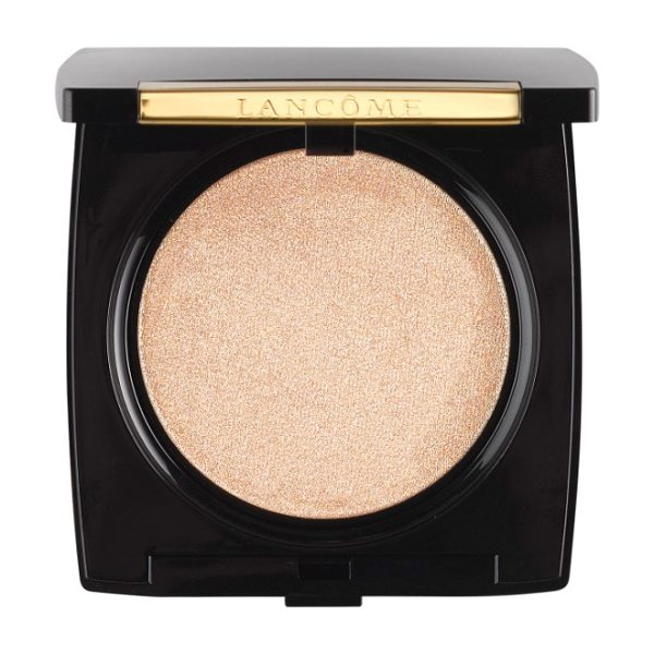 Lancome dual finish highlighter in 01 shimmering buff - What it is: A dual-effect powder highlighter enhanced...