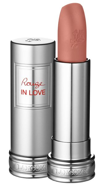 Lancome Rouge in love lipstick in delicate lace