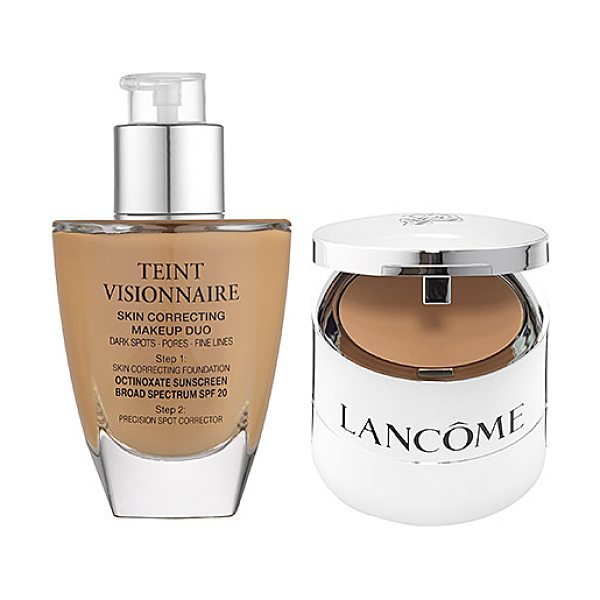Lancome teint visionnaire skin correcting makeup duo 210 buff n