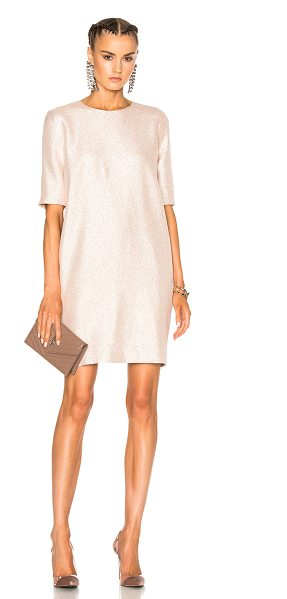 LANVIN Shift Dress - 25% poly 5% silk.  Made in France.  Dry clean only. ...