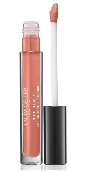Laura Geller Beauty nude kisses lip hugging gloss in nude beach / cream - What it is: An ultra-creamy, moisturizing gloss with...