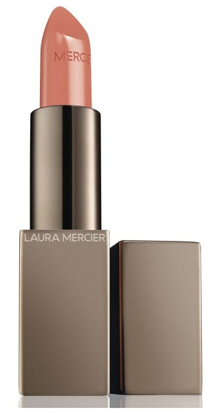 Laura Mercier rouge essentiel silky creme lipstick in nude nouveau - What it is: A weightless, high-impact, statement-making...
