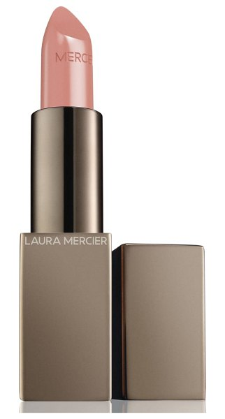 Laura Mercier rouge essentiel silky creme lipstick in nude naturel - What it is: A weightless, high-impact, statement-making...