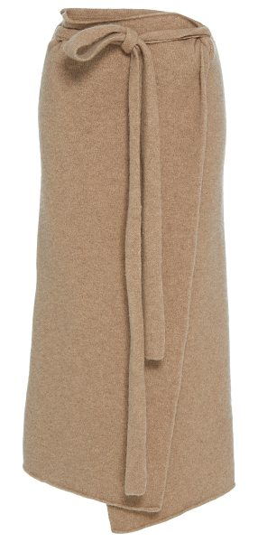 Lauren Manoogian Blanket Wrap Skirt in neutral - This *Lauren Manoogian* Blanket wrap Skirt features a...