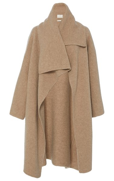 Lauren Manoogian Cashmere Blanket Coat in brown - This *Lauren Manoogian* cashmere Blanket Coat features a...