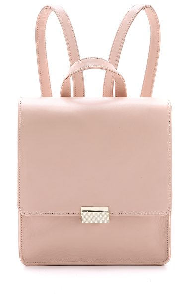 Lauren Merkin Chloe backpack in petal - A minimalist Lauren Merkin Handbags leather backpack...