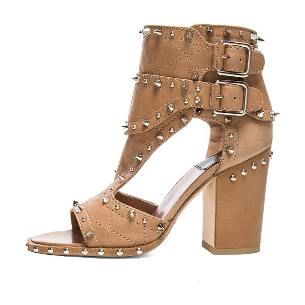 Laurence Dacade Deric calfskin leather heels in neutrals - Calfskin leather upper and sole.  Made in Italy.  Approx...