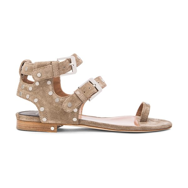 Laurence Dacade Hippo suede sandals in neutrals - Suede upper with leather sole.  Made in Italy.  Approx...