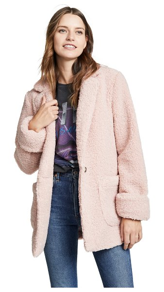Laveer jane coat in pink