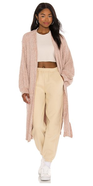 LBLC The Label sherry cardigan in oatmeal