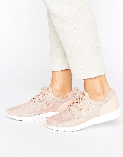 Le Coq Sportif Pink Mesh Dynacomf Sneakers in pink - Sneakers by Le Coq Sportif, Breathable mesh upper,...