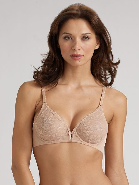 LE MYSTERE Delphine lace bra - This lightweight design with maximum support and...